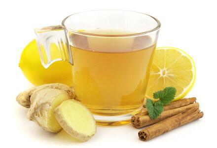 Имбирный чай для сжигания жира (фото)