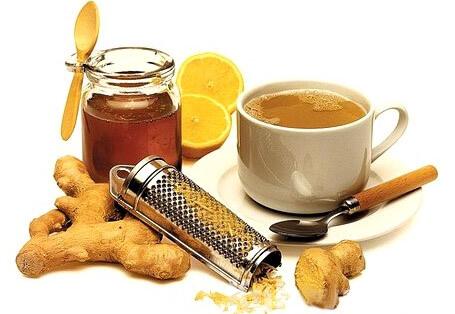 Имбирь с медом и лимоном (фото)