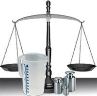 Вес и объем продуктов